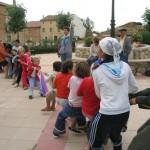 Juegos en la plaza