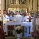 Celebración misa en la ermita