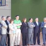 Inauguración del Polideportivo
