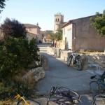 Descanso para las bicis