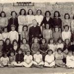 Escuela en 1944