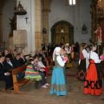 Ofrenda en la Iglesia