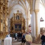 Interior de la iglesia de Villegas