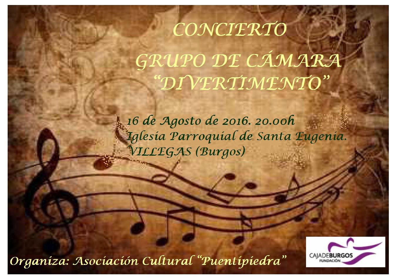 cartel concierto