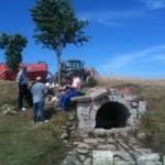 Limpieza fuente Villamorón